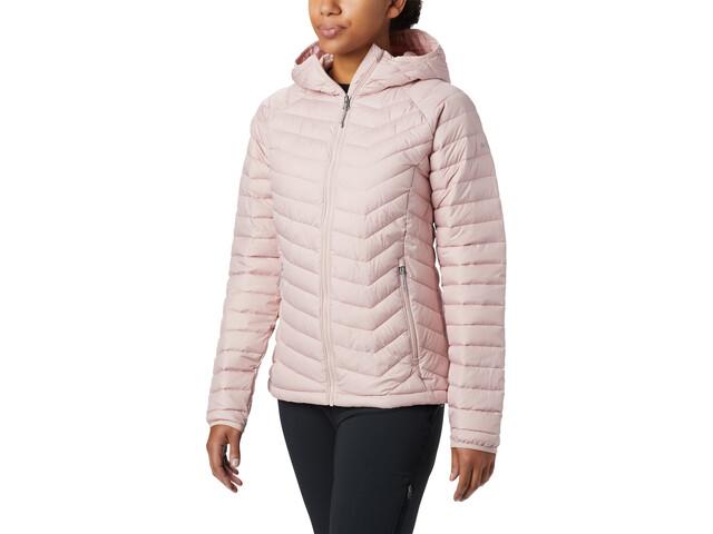 Columbia Powder Lite Veste à capuche Femme, dusty pink